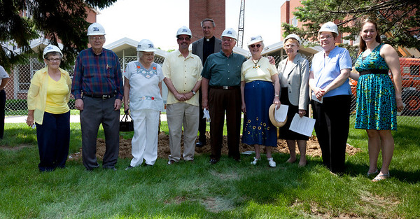 Some of us who remembered the last groundbreaking were on hand to join in the celebration.
