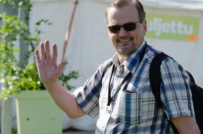 Radio Dein juontaja Timo Tikka