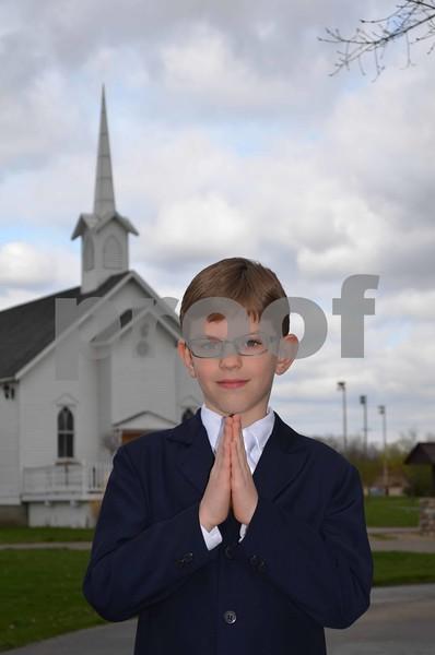 Chris B's Sons Communion Pics.