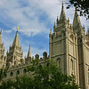 Salt Lake City, Utah Temple by Steven Smith