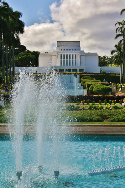 Hawaii Temple by Steven Smith