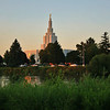 Idaho Falls LDS Temple by Steven Smith