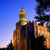 St. George, Utah Temple by Steven Smith