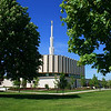 The Ogden, Utah Temple before being remodeled by Steven Smith