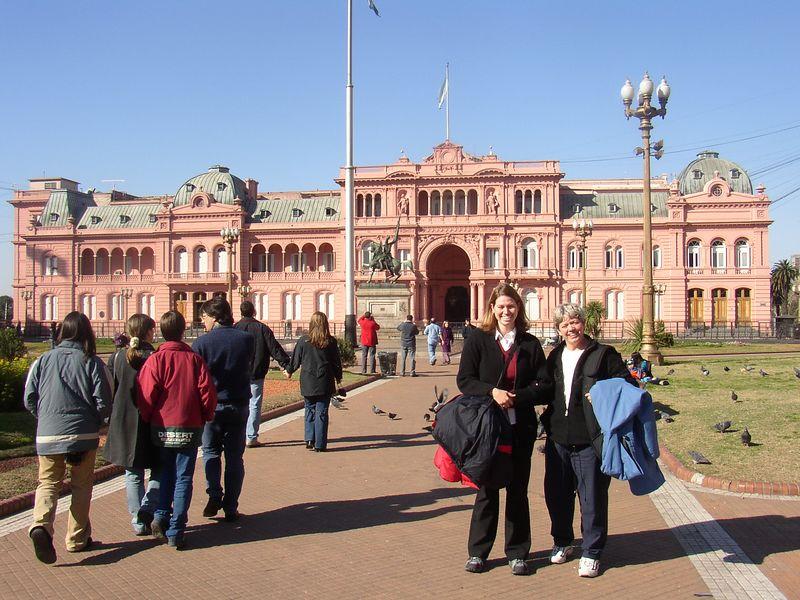 La Casa Rosada-Buenos Aires