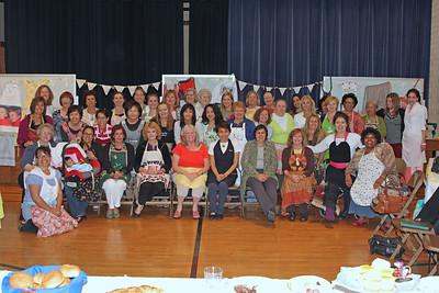 Malaga Cove Ward Relief Society Birthday Dinner - 2014