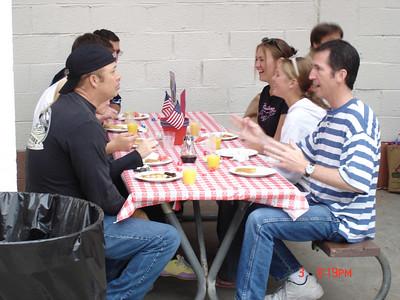 Malaga Cove Ward Pancake Breakfast -July 2005