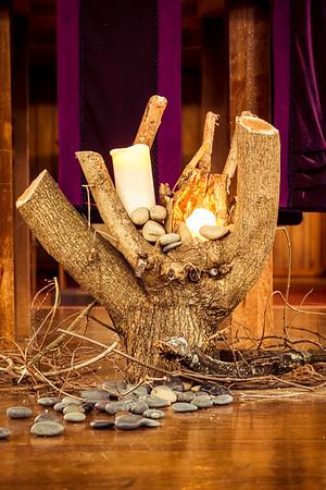 Lent Altar Tableau 3-18-2015