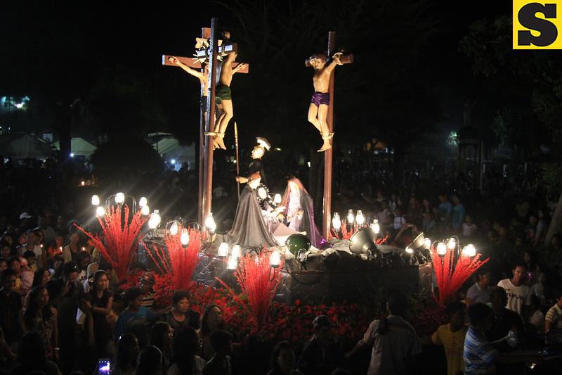 The Crucifixion of Jesus Christ in Bantayan Island, Cebu