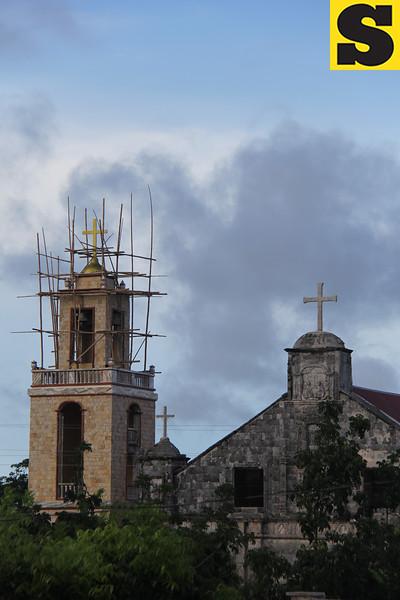 Bantayan Island church tower