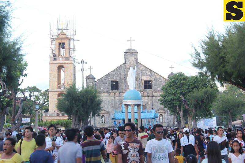 Bantayan Island, Cebu church