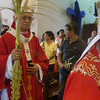 Cebu Archbishop Jose Palma celebrated a mass on Palm Sunday at the Cebu Metropolitan Cathedral.