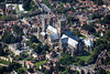 Aerial photo of Lincoln Cathedral.