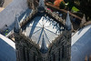 Lincoln Cathedral Tower from the air.