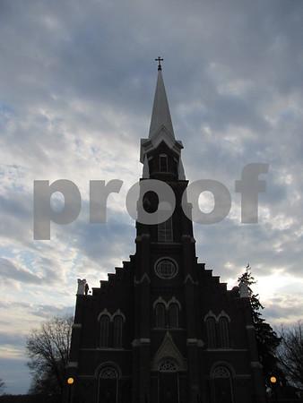 Corpus Christi church in Fort Dodge.