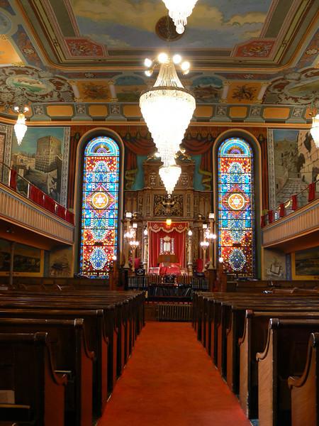 Bialystoker synagouge, interior