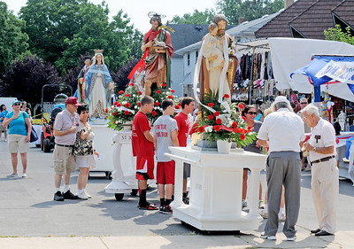 MT. CARMEL SOCIETY PROCESSION IN HAMMONTON NJ. 07/16/13