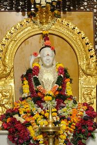 Lord Jagadeeswara in Jagadeeswara Temple located within Chinmaya Mission's Sandeepany Sadhanalaya at Powai, Mumbai (Bombay), MH, India.  Maha Shivaratri (Mahashivratri) festival was celebrated with great religious fervor at the Chinmaya Mission, Sandeepany, Powai on Monday, February 23rd,2009.