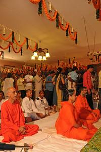 Maha Shivaratri (Mahashivratri) celebrations at the Chinmaya Mission, Sandeepany, Powai on Monday, February 23rd, 2009.  Lord Jagadeeswara's temple is located within Chinmaya Mission's Sandeepany Sadhanalaya and situated on a hill top.