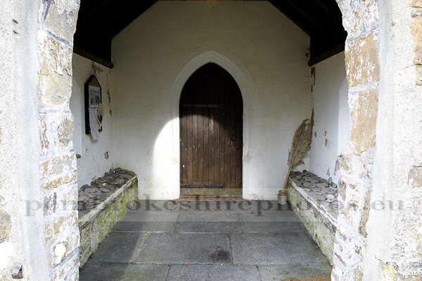 St Marcellus Church, Martletwy. A pretty miserable day, both for the church and weatherwise.