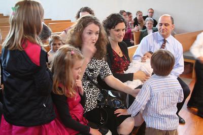 Max's Baptism 10.26.13