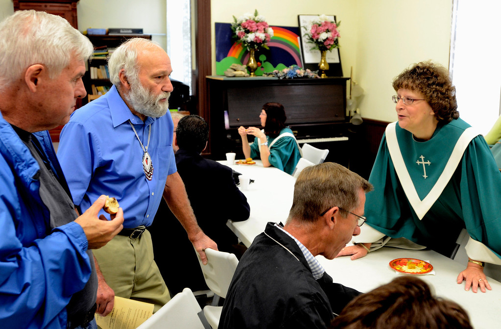 . Mike McMahon - The Record, The Melrose United Methodist Church celebrated its 160th Anniversary, September 29, 2013.