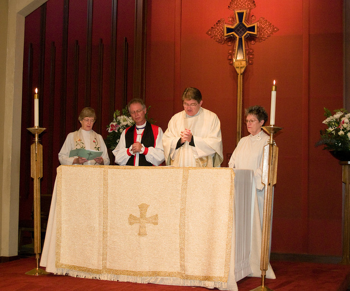 First Bishop Andrus visit to St. John's