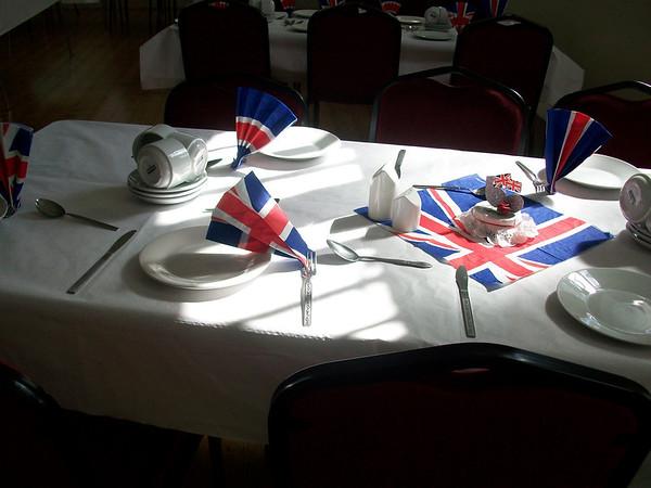 Mothers' Union Jubilee Lunch