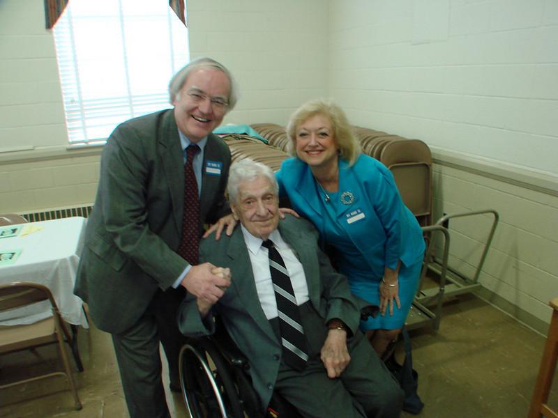 Myron Kauffman, Larry and Susan Hastings