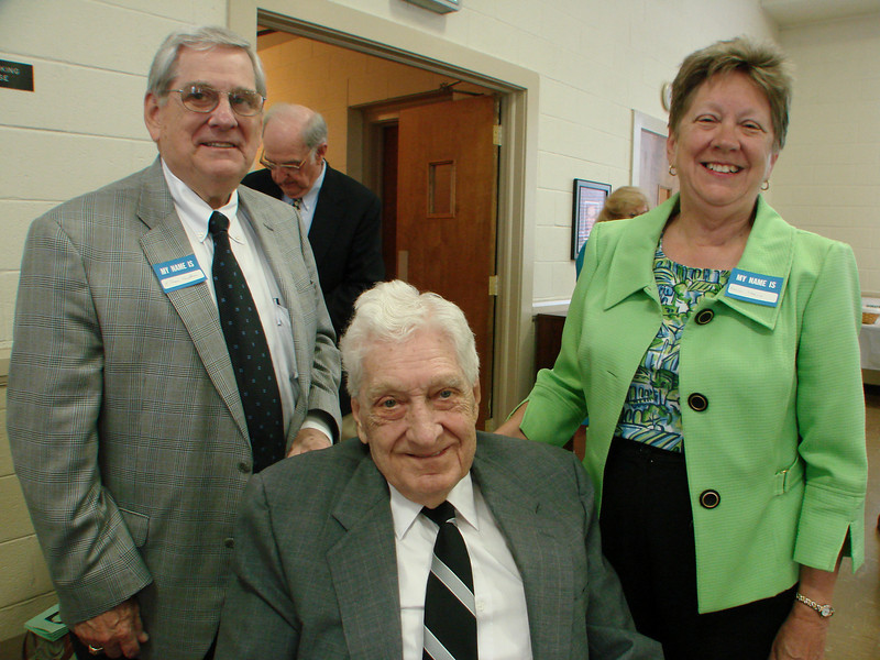 Myron's son, Jim, and daughter, Nancy Harvie,