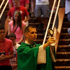 """1,400 middle school and high school youth attended the annual Diocesan Catholic Youth Conference on July 13-15, 2012 at the Hyatt DFW Airport. The conference featured Mass, workshops, music, entertainment, prayer and keynote addresses focusing on the theme """"Ignite My Heart, I Burn For You."""""""