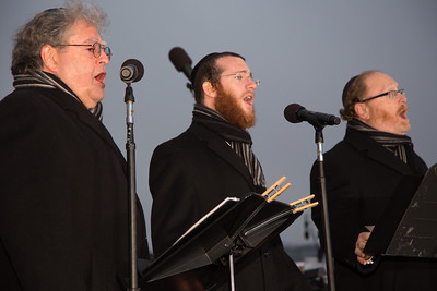 Three world acclaimed cantors sing Chanukah songs - Yaakov Lemmer, Yaacov Motzen,and Jeffrey Nadel