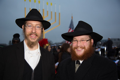 Reuven Herrera from Oklahoma and Rabbi Simcha Evan Finkelstein from Morristown NJ.