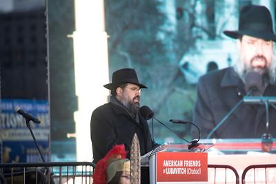 Rabbi Levi Shemtov, Chanukah, National Menorah