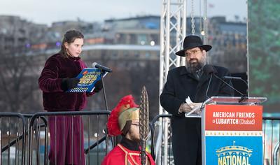 Chanukah, National Menorah, Rabbi Levi Shemtov