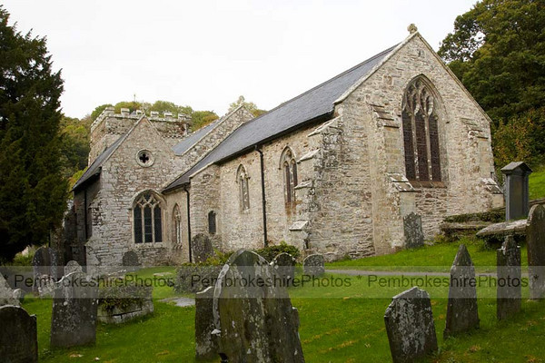 St Brynach's, Nevern.