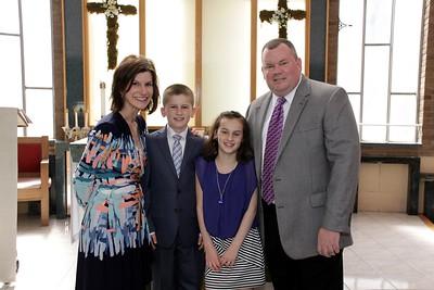 Nicholas' 1st Communion