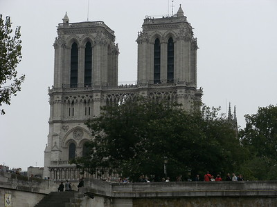 Notre Dame Cathedral, Paris - 17 September 2009