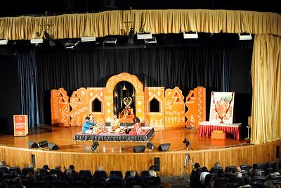 Bhajans - Anand Venkatakrishnan (New York, USA)   1st Annual Nrtya-Sura-Bharati Festival organized by Chinmaya Naada Bindu (Chinmaya Mission) was held from 24th December to 01st January, 2011 at Chinmaya Vibhooti, Kolwan, Maharashtra.  An 8-day Residential Performing Arts-Experience. Classical concerts by India's master virtuosos and youth performers & 6-Day Performing Arts. Intensives in Dance (Bharata Natyam), Music (Hindustani, Devotional & Western Classical) were held. For more details see:   http://www.chinmayaswaranjali.org/chinmaya_naada_bindu.htm
