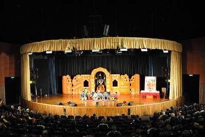 Special Showcase Performance by students of the Performing Arts Intensives - Bharata Natyam, Bhajans, Hindustani & Western Classical Music  1st Annual Nrtya-Sura-Bharati Festival organized by Chinmaya Naada Bindu (Chinmaya Mission) was held from 24th December to 01st January, 2011 at Chinmaya Vibhooti, Kolwan, Maharashtra.  An 8-day Residential Performing Arts-Experience. Classical concerts by India's master virtuosos and youth performers & 6-Day Performing Arts. Intensives in Dance (Bharata Natyam), Music (Hindustani, Devotional & Western Classical) were held. For more details see:   http://www.chinmayaswaranjali.org/chinmaya_naada_bindu.htm