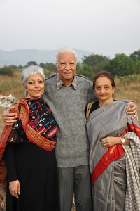 Hinduja family at Chinmaya Vibhooti
