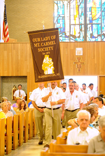 OUR LADY OF MT. CARMEL SOCIETY MASS , OUR LADY OF MT. CARMEL PARISH HAMMONTON NJ. 07/16/13