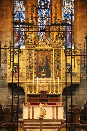 High Altar and Reredos 28 April 2012