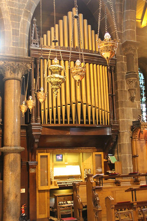 Organ and Console 28 April 2012