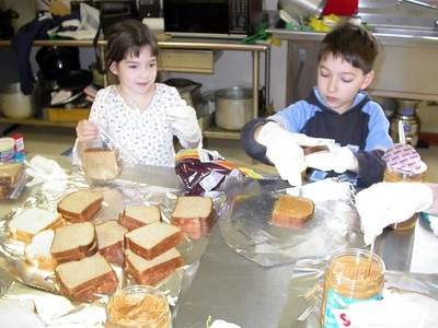 Social Action -Making Lunches