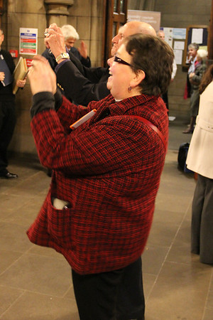 Diocesian Ministerial Development Officer taking a few pictures after the service. 25 September 2011