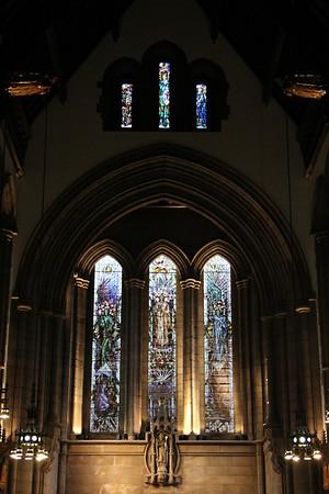 East End of Glasgow University Memorial Chapel. 25 September 2011