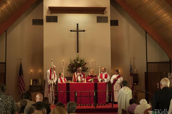 Jennifer Durant's Ordination
