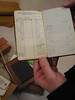 A 1944 bank register.