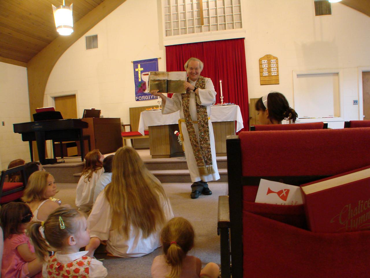 Children's Meditation during worship